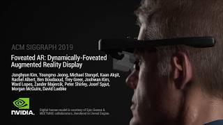 Foveated AR: Dynamically-Foveated Augmented Reality Display