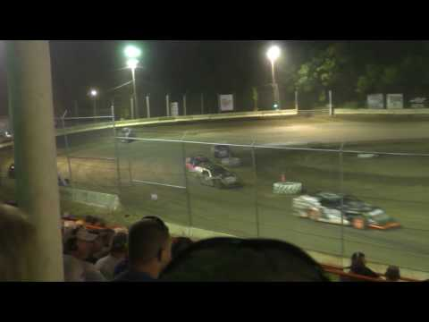 070817 Highland Speedway Modified Heat Race 3