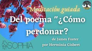 MINDFULNESS sobre el poema Â¿COMO PERDONAR? DE JEFF FOSTER