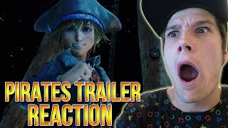 KINGDOM HEARTS 3 PIRATES OF THE CARIBBEAN TRAILER REACTION!