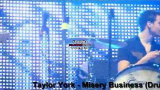 Taylor York - Misery Business (Drums) And Zac Farro (Guitar)
