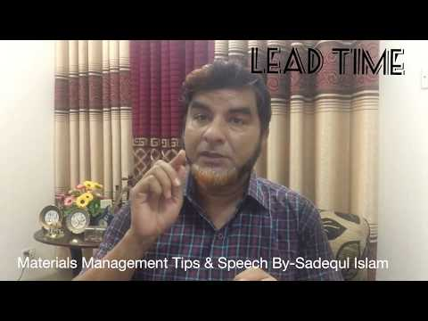 Lead Time Of Supply Chain Management