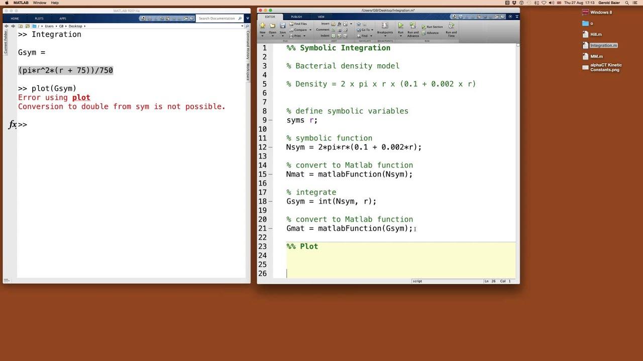 Functions & Calculus II: Integration