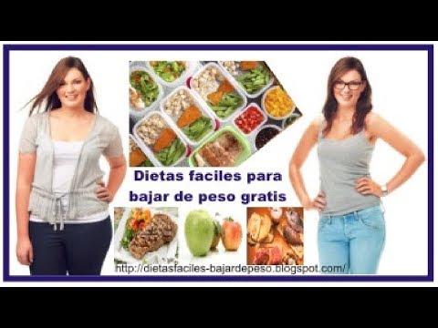 ? Dietas faciles para bajar de peso gratis | Dietas para adelgazar faciles