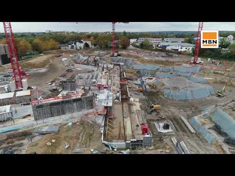 Neubau Aldi Campus In Essen Youtube