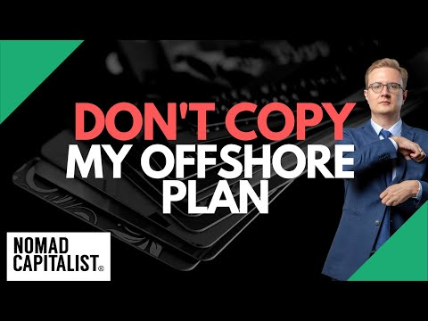 Don't Copy My Offshore Tax and Lifestyle Plan