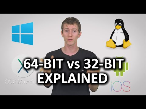32-bit vs 64-bit Computers & Phones as Fast As Possible