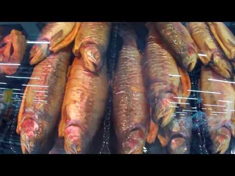 """Магазин """"Лапландия"""" в Финляндии. Цены на рыбу, её разделку и буфет."""