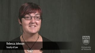 Faces of UVic Research: Rebecca Johnson