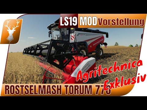 Rostselmash TORUM 770 // Agritechnica Exklusiv Inhalte // Modvorstellung + Power Stream