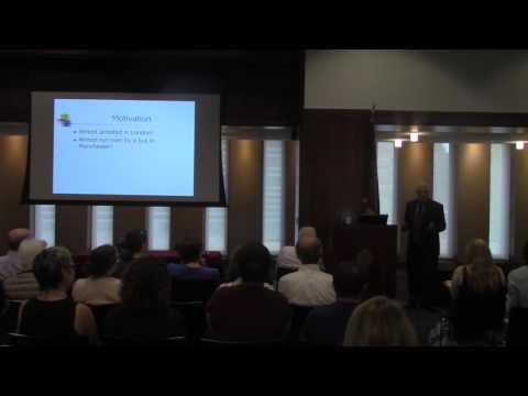 """Anastasi Lecture 2015: Robert Sternberg, """"Intelligence, Culture, and Society"""""""