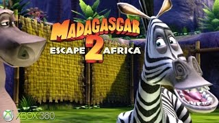 Madagascar: Escape 2 Africa - Xbox 360 / Ps3 Gameplay (2008)