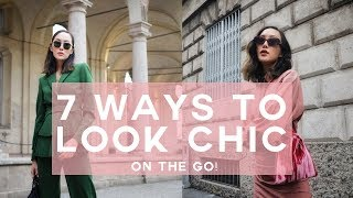 7 Instant Ways to Look Chic on the Go | Chriselle Lim