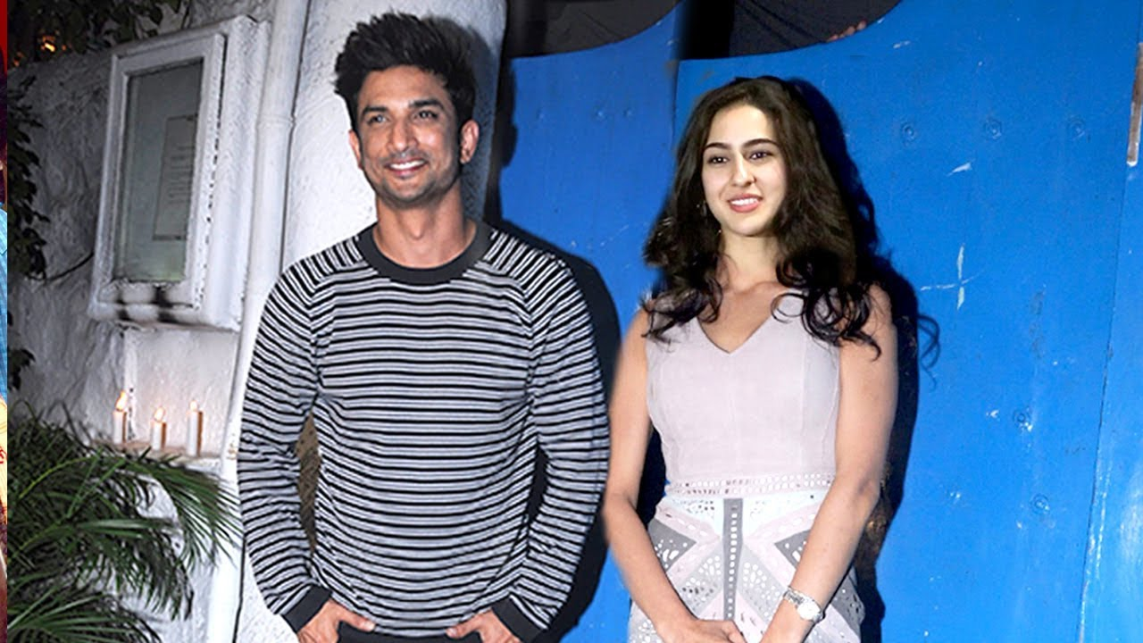Sushant Singh Rajput Spotted With Saif Ali Khans Daughther Sara Ali