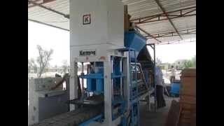Automatic Flyash Bricks Making Machine | (KMA 144) | Karmyog Hi-Tech Machineries