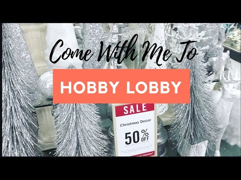 Come With Me To Hobby Lobby