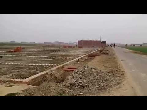 Dream Valley Lucknow India  Shaheed Path Approved Township with Loan for Plot Purchase
