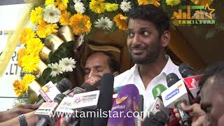 Vishal at the launch of TFPC microplex's mastering unit