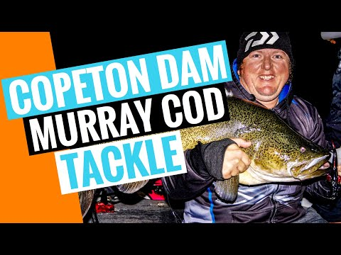 My Murray Cod Tackle For Copeton Dam
