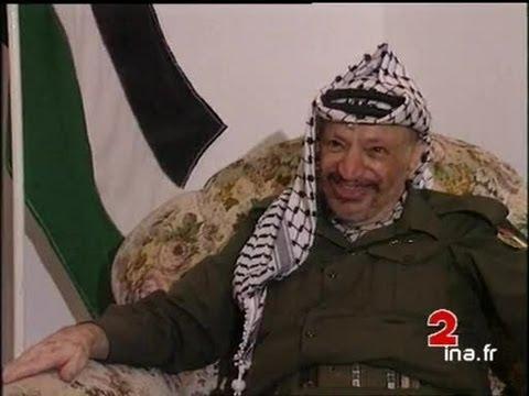 Palestine : Interview de Yasser Arafat de retour à Gaza