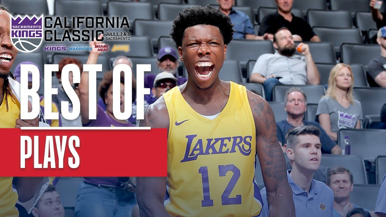 Lakers Summer League Schedule 2020.Best Plays From The 2019 Nba California Classic Summer League