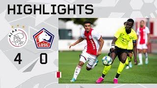 Highlights Ajax O19 - Lille O19 | UEFA Youth League