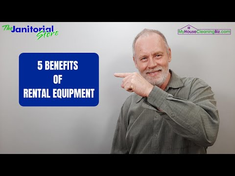 5 Benefits Of Rental Equipment