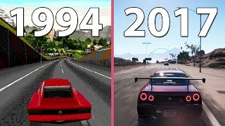 [4K] Need for Speed Evolution – All NfS games from 1994 to 2017