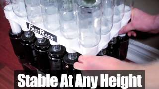 Fastrack Bottle Storage System  -  Www.love2brew.com