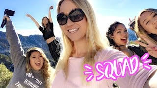 YOUTUBERS GO TO THE SNOW!! Vlogmas Day 4!!