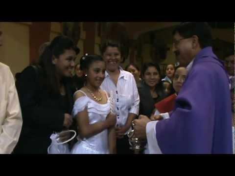 Bautizo de Anahi, Angue y Alina