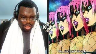 THE SWEATIEST MOMENT IN JOJO'S! Jojo's Bizarre Adventure Part 5 Episodes 35 - 37 ⚡ KOL LIVE REACTION
