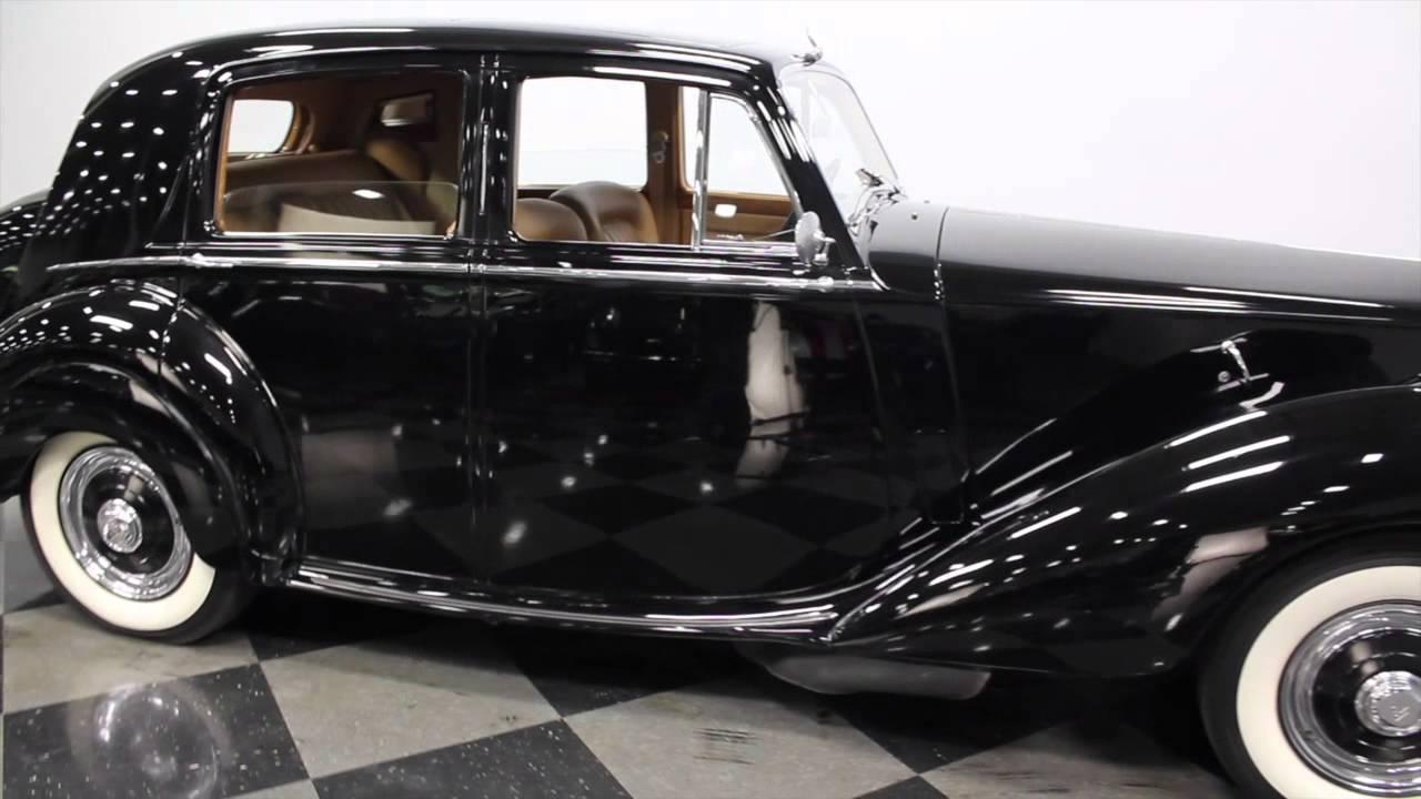 2659 CHA 1952 Rolls-Royce Silver Dawn - YouTube