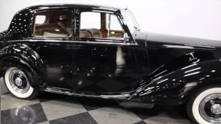 2659 CHA 1952 Rolls-Royce Silver Dawn
