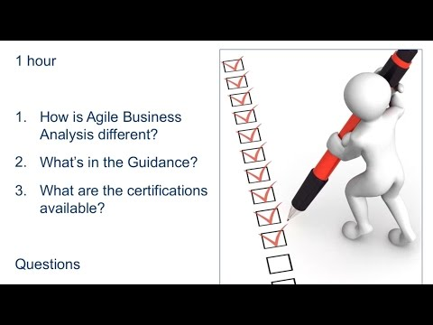 Business Analysis in an Agile World