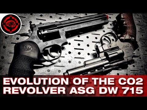 ASG Dan Wesson 715 vs Win Gun CO2 Revolvers