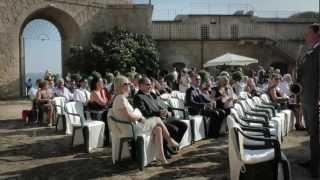 Daisy Nicoli & Alexis Richard Tarr's wedding ceremony
