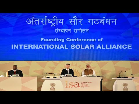 International Solar Alliance summit