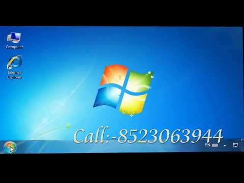 How To Installing An HP Printer 1020 Driver In Windows 7 For A USB  In Telugu