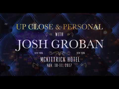 Up Close & Personal with Josh Groban in New York City