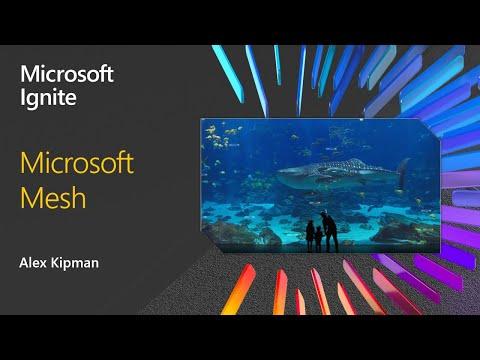 Microsoft's Alex Kipman unveils Microsoft Mesh