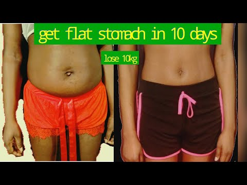 HOW TO GET FLAT STOMACH | HOW TO LOSE WEIGHT FAST 10KG | HOW TO LOSE BELLY FAT AT HOME 2020