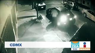 Captan a ladrones desvalijando un auto en la delegación Venustiano Carranza | Francisco Zea