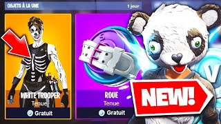 KNOW IN AVANCE the SKINS in the FORTNITE BOUTIQUE!