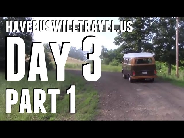 Day Three: Part One, Down the Wrong Dirt Road