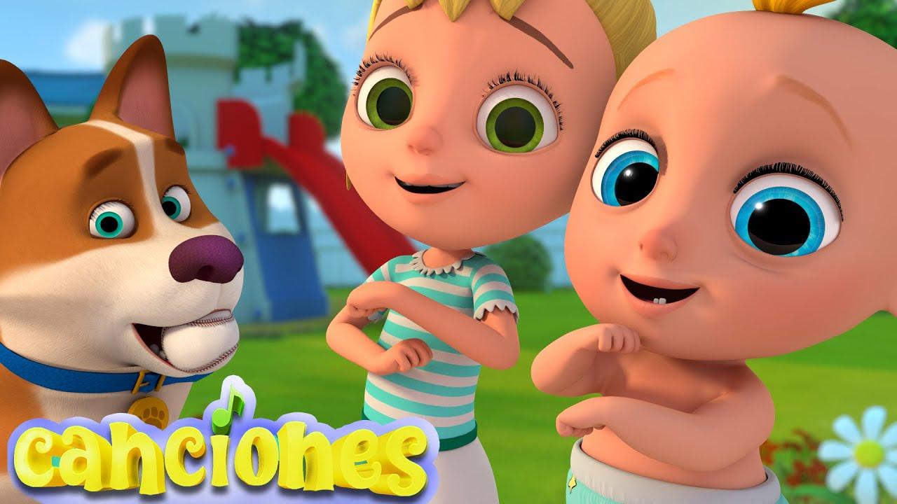 🧒Rueda, Rueda, Rueda - Canciones Infantiles | LooLoo