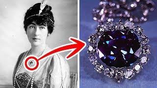 La Terrifiante Histoire du Diamant de l'Espoir qui a Ruiné la vie de ses Propriétaires
