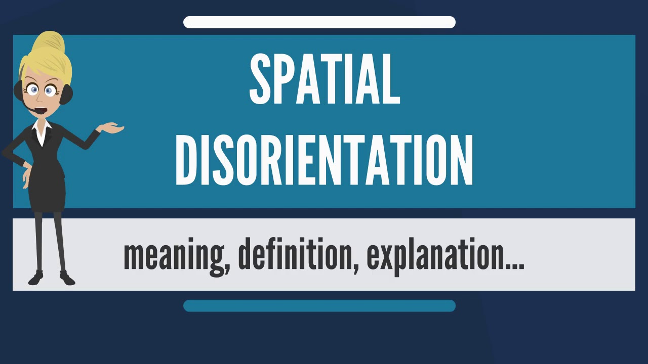 What does it mean to be disoriented