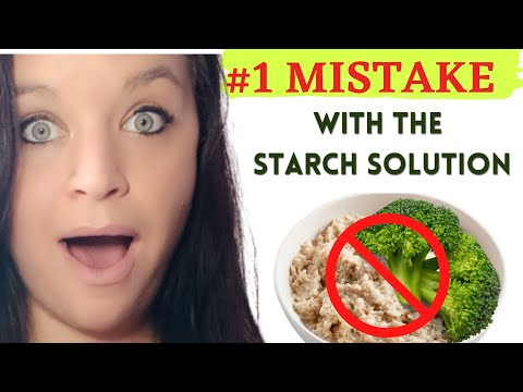 STARCH SOLUTION MAXIMUM WEIGHT LOSS / STARCH SOLUTION WHAT I EAT IN A DAY
