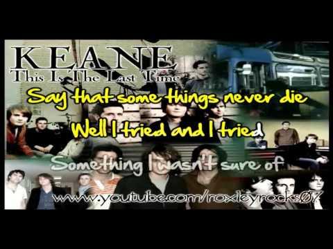 This Is The Last Time (Keane) Karaoke